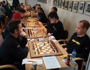 Fra kampen Alta - SOSS med Galchenko - Lie på førstebord