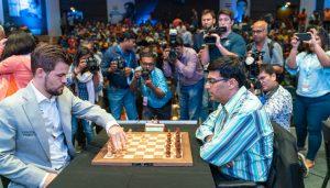 Carlsen med en ny seier mot Anand i India
