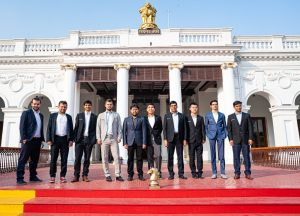 De 10 deltakerne i Tata Steel Chess India Rapid & Blitz
