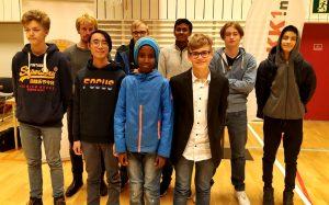 Noen av de premierte i Bærum Grand Prix
