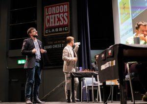 Vachier-Lagrave og Carlsen var tidlig ferdig med sitt andre langsjakkparti i London