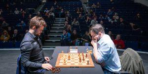 Carlsen tapte semifinalen mot Vachier-Lagrave