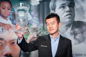 Liren Ding vant Grand Chess Tour 2019