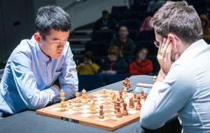 Liren Ding med en klar matchseier mot Aronian