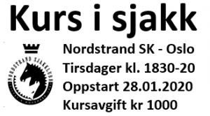Kurs i sjakk - Nordstrand Sjakklubb i Oslo
