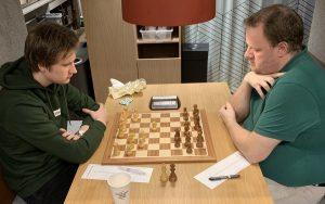 Andrebord i kampen mellom Offerspill og Sarpsborg