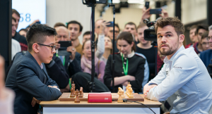 15-årige Abdusattorov var en av få som tok poeng mot Carlsen