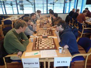 Bergens tok ledelsen i Eliteserien etter seier mot SK 1911 i sjette runde