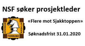 """NSF søker prosjektleder til """"Flere mot sjakktoppen"""""""