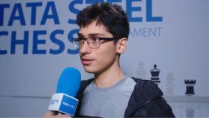 Firouzja vant sitt første parti i Tata Steel Chess