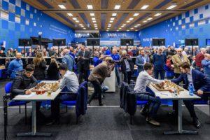 Fra sjette runde i Tata Steel Chess