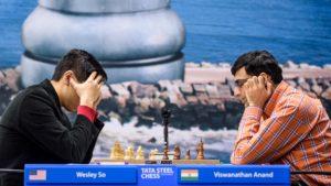 So vant mot Anand i andre runde