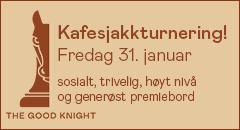 Kafesjakk hos The Good Knight i Oslo