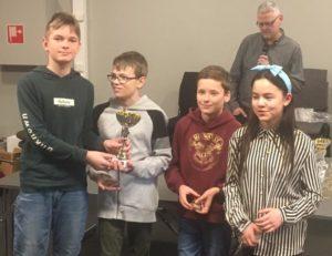 Grenlands vinnerlag i barneklassen