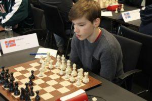 Sergey Eliseev tok gull i Nordisk for ungdom