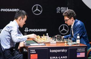 Ding Liren slo tilbake med seier mot Caruana