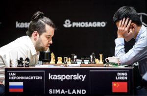 Nepomniachtchi økte sin ledelse etter seier mot Ding Liren