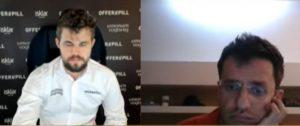 Carlsen til finale etter seier mot Aronian