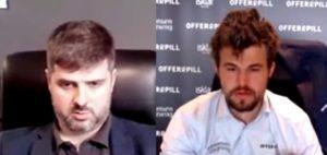 Svidler og Carlsen leder etter tre runder