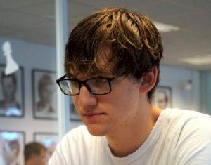 Johannes Haug har tatt ledelsen i Stavanger