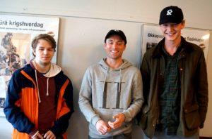De tre beste i Offerspill Bergen Hurtig GP