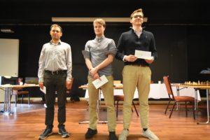 De tre beste i A-gruppen: Postny, Urkedal og Haug