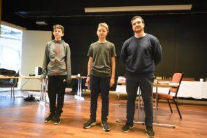 De tre beste i åpen gruppe: Schouten, Lye og Cross