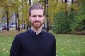 Eirik Natlandsmyr, vår nye Generalsekretær i USF og NSF