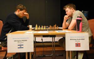 Postny mot Holm i åttende runde