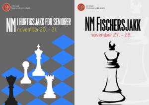 NM i hurtigsjakk for seniorer og NM i Fischersjakk