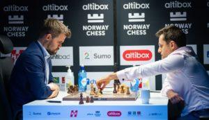 Carlsen mot Aronian i Norway Chess 2020