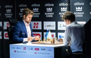 Carlsen fikk revansje mot Duda
