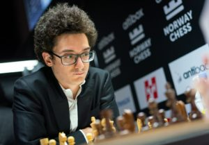 Caruana leder Altixbox Norway Chess