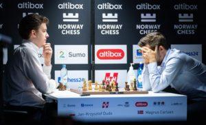 Duda slo Carlsen i Altibox Norway Chess