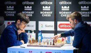Firouzja tapte bondesluttspilet mot Carlsen