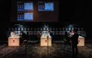 Fra runde runde av Altibox Norway Chess