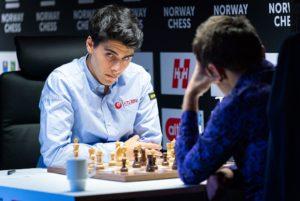 Tari klarte ikke å slå Aronian