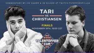 Finalen ble spilt mellom Tari og Christiansen