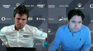 Carlsen og Nakamura tok to av de tre første plassene i kvalifiseringen
