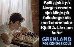Sjakklinjen på Grenland Folkehøgskole