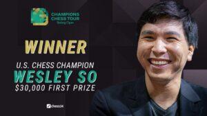 Wesley So vant Skilling Open