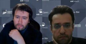De to finalistene Radjabov og Aronian