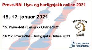 Prøve-NM i lyn- og hurtigsjakk online 2021