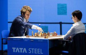 Carlsen og Giri spilte remis i runde 11