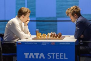 Duda holdt remis mot Carlsen