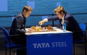Esipenko med en knusende seier mot Carlsen