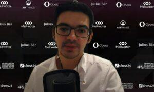 Giri vant Magnus Carlsen Invitational