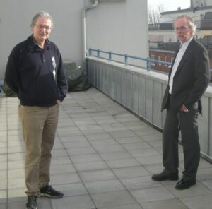 Leif Øgaard og Knut J. Helmers