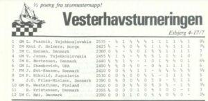 Vesterhavsturneringen 1982