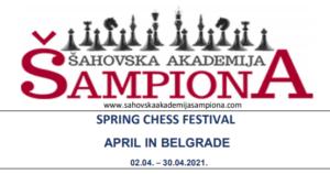 Belgrade Spring Chess Festival 2021